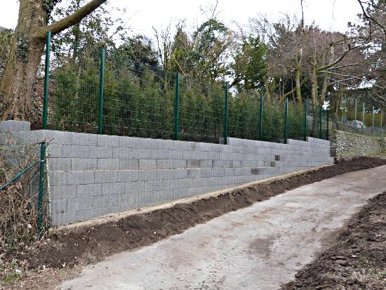 Mauer Mit Zaun Baumpflege Collins